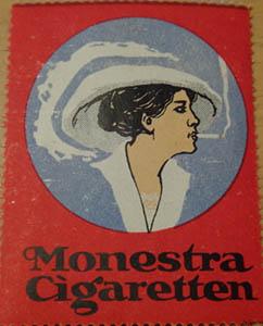 Zigaretten Reklamemarken waren damals wie heute sehr beliebt.